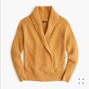 J.Crew Point Sur Shawl Pullover Sweater Sz XL